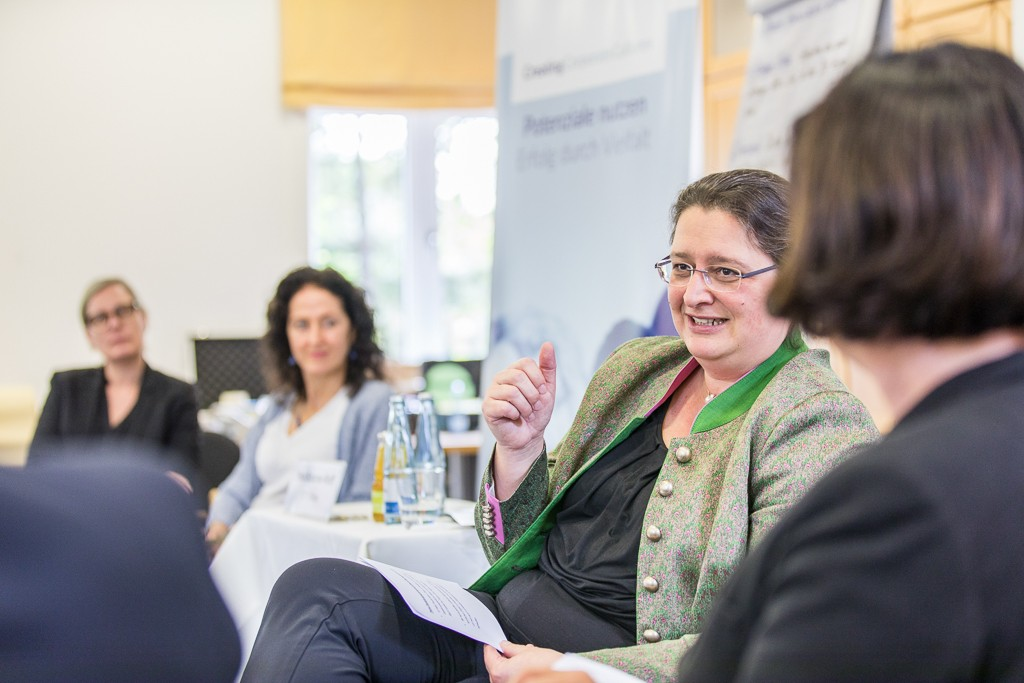 Zu Gast beim Executive Training: Petra Scharner-Wolff