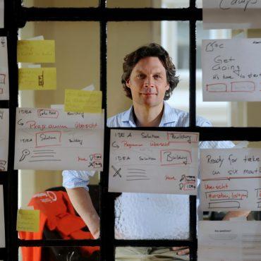 BIELEFELD, DEUTSCHLAND - 05. JULI 2016:  Interview Sebastian Borek , Founders Foundation, Bielefeld (Foto: Bernhard Pierel/'WESTFALEN-BLATT') +++