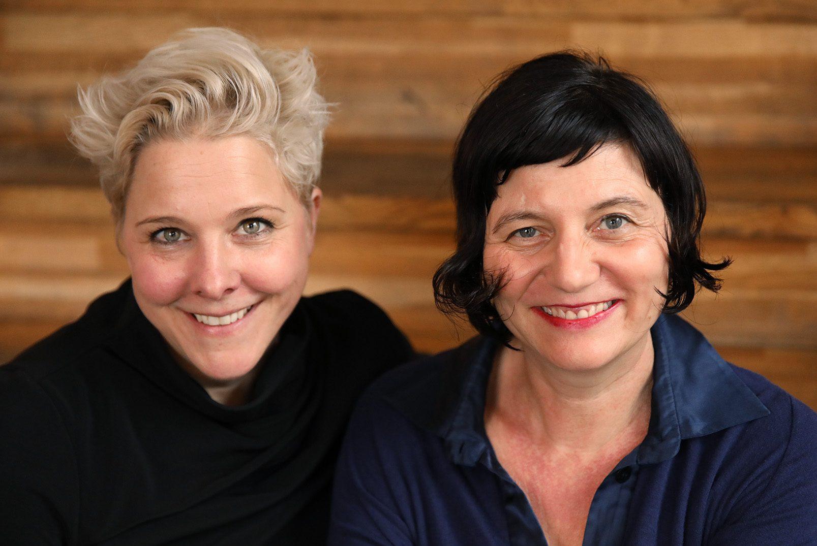 Katja Anclam und Franziska Weißbach