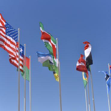 globale Zusammenarbeit